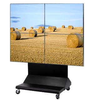 tekerlekli video wall