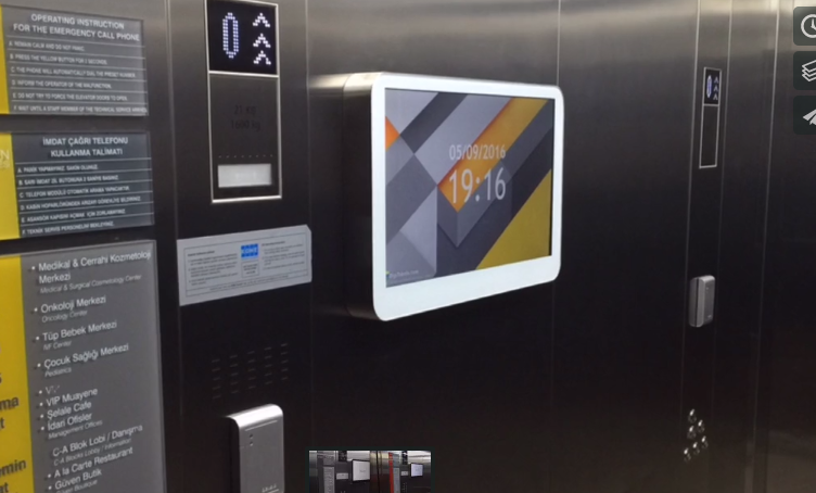 asansör reklamcılığı